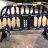 塑料铁马 镀锌黄黑隔离铁马 道路施工铁马护栏路障