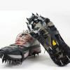 户外18齿硅胶冰爪不锈钢登山雪地防滑鞋套