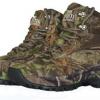 仿生迷彩鞋 户外战术狩猎打猎鞋
