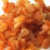 糖渍干燥橙皮丁1kg