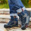 厂家直销 新款户外防水防沙防滑耐磨男士登山鞋 高帮透气运动鞋