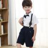 男女童幼儿园园服班服 儿童英伦校服合唱演出服