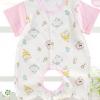 2017新款婴儿衣服宝宝新生儿婴儿连体衣短袖哈衣爬服