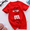 婴儿短袖哈衣 婴幼儿宝宝薄款连体衣服