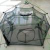 折叠伞式鱼护网、多边鱼护、自动虾搂