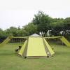 2015新款高档铝合金杆免搭防暴雨三层多人户外自动野营帐篷