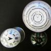 车用塑胶指南针 防水塑胶夜光指南针
