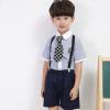 夏装新款幼儿园园服英伦风班服