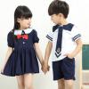 新款幼儿园园服夏装小学生校服