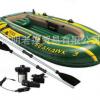 充气船图片 钓鱼艇