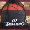 自产篮球袋足球包半网束口双肩背包