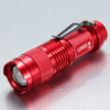 美国进口 CREE Q5 LED 迷你变焦强光手电筒