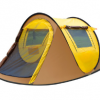 户外3-4人帐篷全自动速开帐篷野外露营双人防雨帐篷