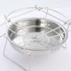 户外便携式圆型不锈钢烤炉 烤网