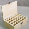 多格收纳木盒 精油盒木质高档精油木盒