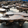 常州华夏神韵根雕厂 专业生产根雕茶几
