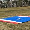 213*213cm户外野营 尼丝纺沙野餐滩垫地席
