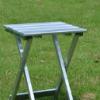 轻便铝合金折叠凳子