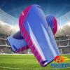 足球彩色插板护腿板 成人青少年足球装备超轻比赛训练护腿板