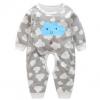 婴儿连体衣春秋服装纯棉