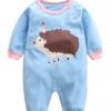 2017新款春装婴儿连体衣纯棉