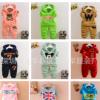 韩版儿童卫衣套装2017外贸春秋款加绒童卫衣两件套地摊童套装批发