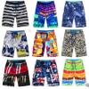 夏季印花迷彩男士大码速干沙滩裤男式五分新薄款短裤度假温泉泳裤
