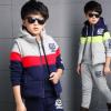童装男童冬装套装2017新款韩版春秋儿童中大童运动卫衣男孩三件套