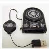 供应笔记本抽风散热器,抽风小精灵738散热器抽风散热卡 抽风器