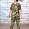 男童装夏季新品儿童短袖T恤超薄长裤中大童迷彩纯棉运动两件套装