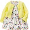 厂家直销韩版外贸夏季童装 婴幼儿纯棉开衫小披肩+短袖哈衣哈裙