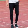 男士休闲裤子春季新款2017韩版修身黑色卫裤青少年男生小脚运动裤