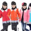 童装羽绒服2017冬季新款卡通可爱韩版外套男童女童羽绒服厂价直销
