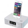 新款D9酒店床头音响 苹果安卓iphone6S手机充电底座蓝牙音箱闹钟