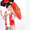 六一儿童格格服装古装清朝表演服少儿古代宫女唐装满族旗服演出服