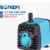 微型多功能潜水泵 水族工艺品抽水泵 10W假山鱼缸循环潜水泵