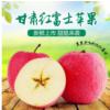 甘肃静宁红富士苹果 脆甜多汁 新鲜水果 批发 6-8斤装