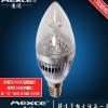 厂家批发led蜡烛灯泡 螺口e14 led 尖泡暖白节能蜡烛灯