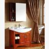 广东高温陶瓷,实木材质,80公分,大肚盆,带洗衣的,现代样式