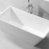 地面普通浴缸 人造石浴缸 复合亚克力大理石浴缸