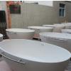 豪华独立式酒店浴缸 人造大理石浴缸 人造石卫浴
