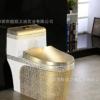 彩色马桶高档品牌卫浴洁具陶瓷坐便器超漩式酒店工程坐厕彩金马桶