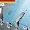 出口德国全铜浴缸四孔水龙头淋浴花洒套装缸边式冷热水龙头四件套