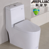 卫浴洁具 新款后推式超强冲力节水马桶 静音坐便器 座便器 坐厕
