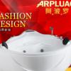 欧式豪华扇形浴缸 亚克力五件套冲浪按摩米成人三角形浴缸 空缸
