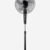 厂家批发电风扇家用落地扇机械16寸五叶静音代理扇摇头礼品风扇