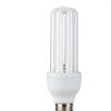 厂家批发 U型三基色节能灯 超亮3U螺旋节能灯 黄光 白光