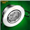 奥普灯亮led天花灯嵌入式3w15W18W新款商业照明灯具小牛眼筒射孔灯
