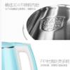 厂家直销 艾仕达1.8L双层防烫304不锈钢电热水壶 烧水壶批发1802