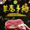 羊排 内蒙古草原生羊排羊肉 新鲜烧烤食材羊肋排火锅食材